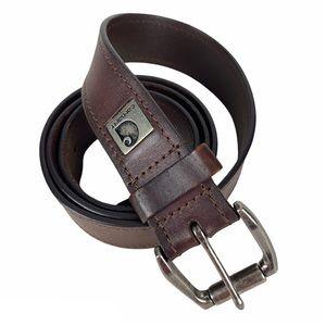 Men's Carhartt Leather Belt Size 42 Brown